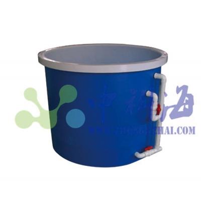 圆形白色PP(聚丙烯)养殖水槽水槽(贴蓝)
