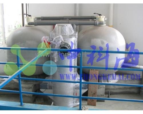 人工海洋水处理系统